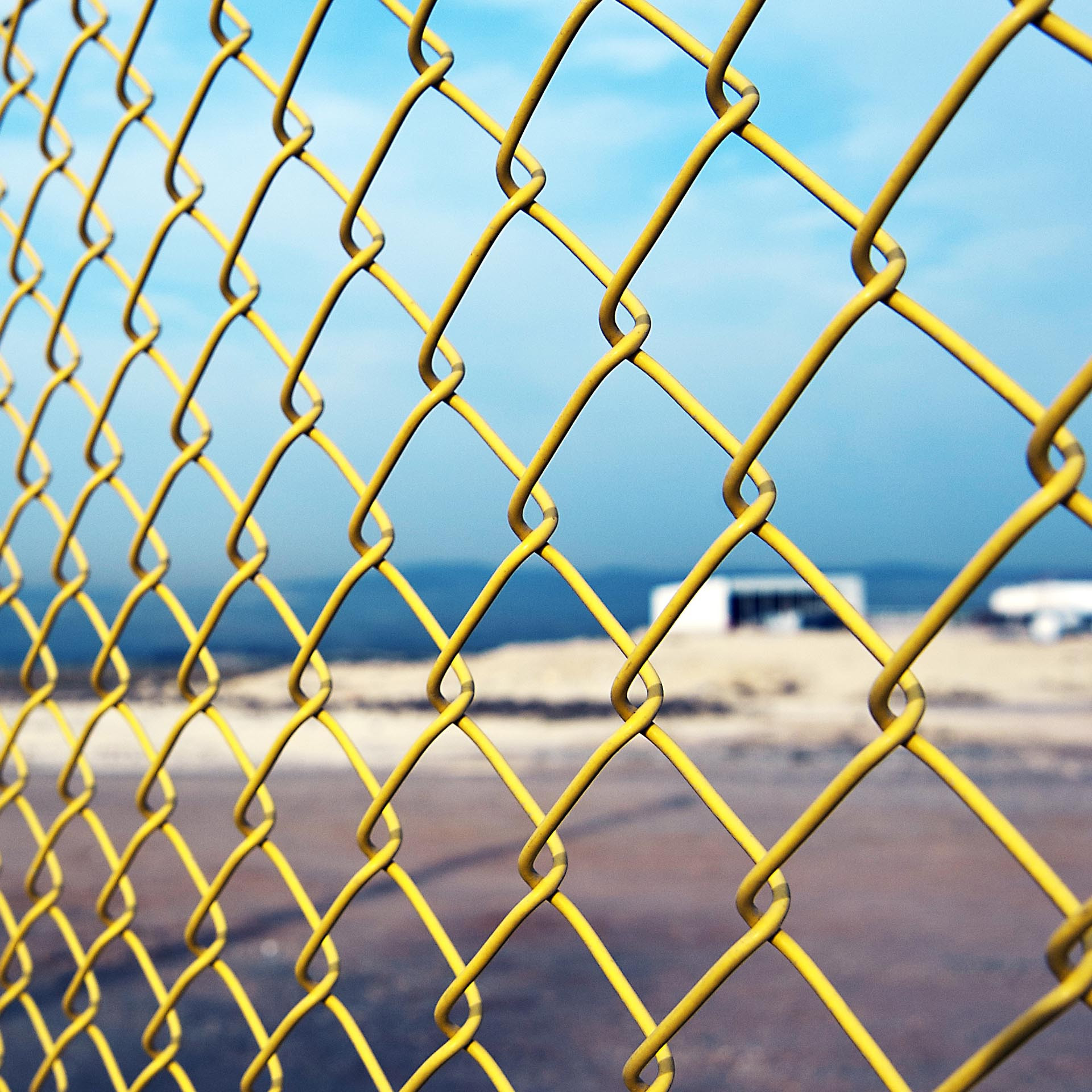 PVC Chain Link Wire Fences