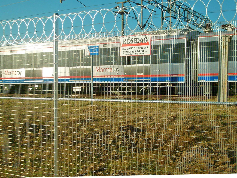 Galvanized Welded Wire Fences