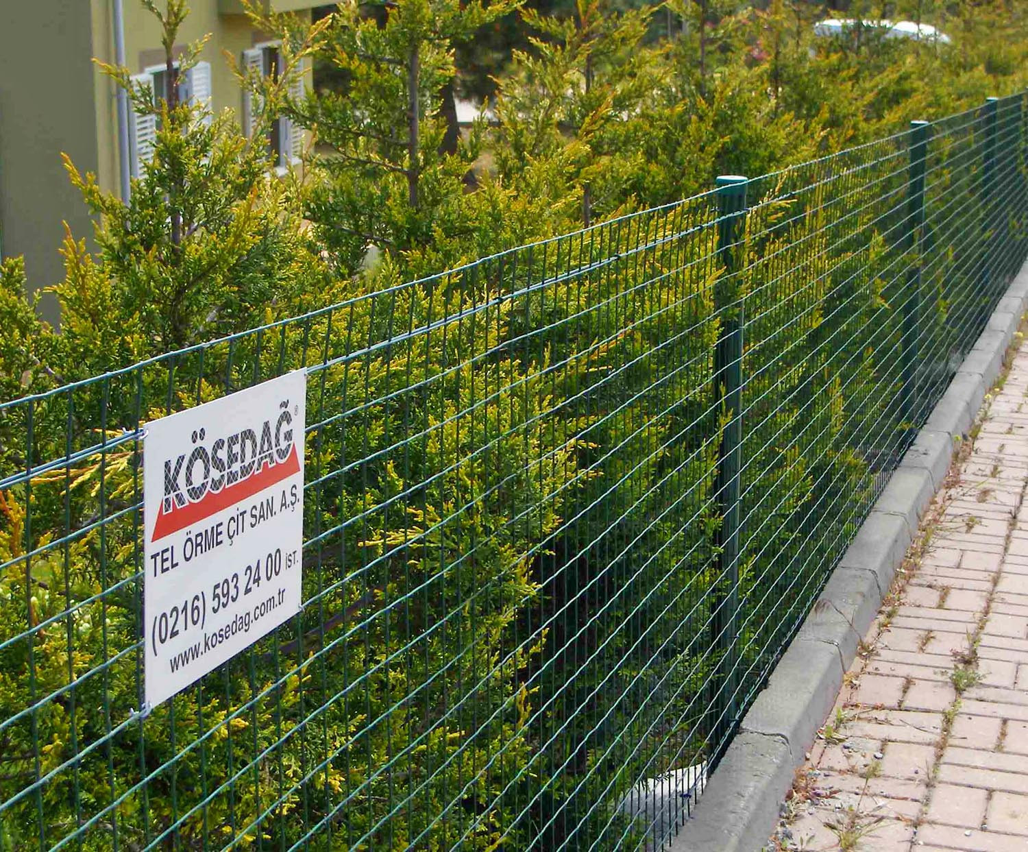 PVC Welded Wire Fences (RAL 6005 YEŞİL)