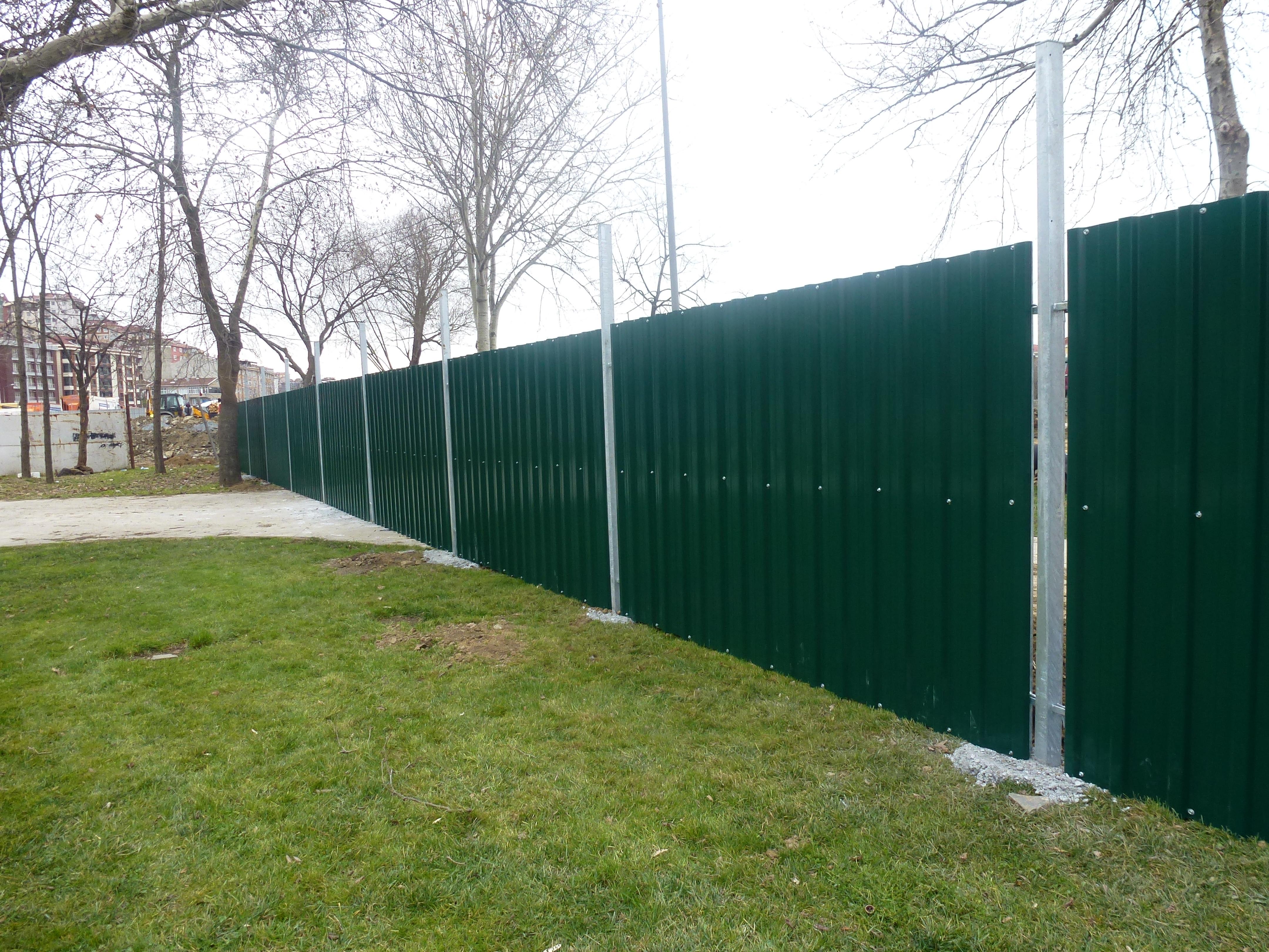Trapezoid Fences