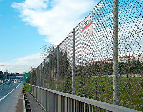 Galvanized Chain Link Wire Fences